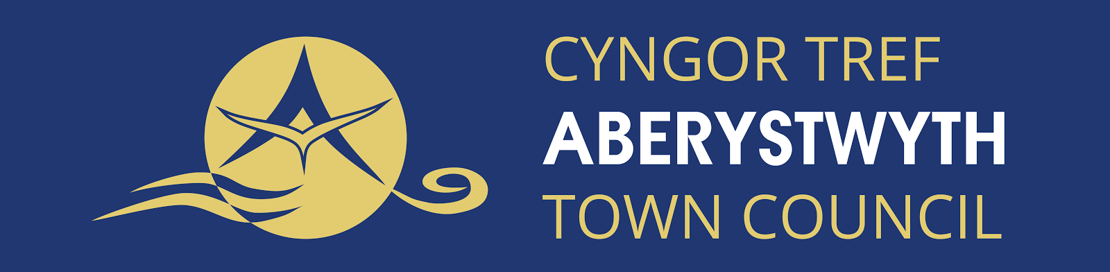 The New Logo for Aberystwyth Town Council