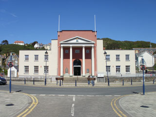 The Alun R. Edwards Centre is located in the old town hall